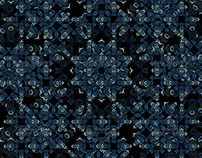 Arabesque Pattern Background