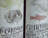 Wine's package and label design