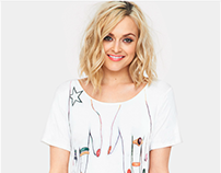 Coppafeel - T-shirt Placement - Fearne Cotton