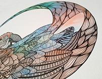 Parrot motif