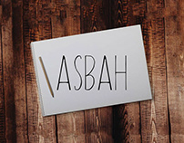 Asbah - Free Handmade Font
