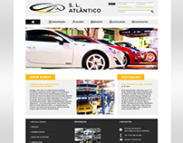 S. L. Atlantico - Website Layout