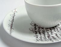 Calligraphic ceramics