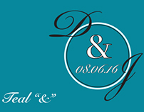 "Teal ""&"" Wedding Invitations and Stationery"