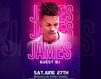 Nightclub flyer templates - Photoshop PSD