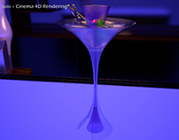 Bombay Sapphire Martini Glass Competition