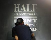 Half is Complete