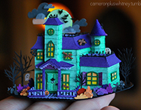 Paper cuts: Haunted House