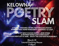 Kelowna Poetry Slam (Inspired Word Cafe)