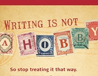Campaign: Writing is Not a Hobby