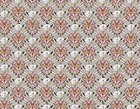 Wallpaper pattern design 28 Edouard Artus ©2015