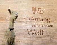 Logo und Werbemittel Griesalp Hotels, Berner Oberland