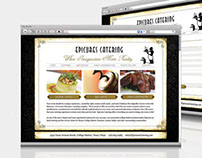 Epicures Catering Website