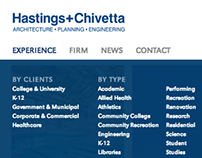 Hastings + Chivetta Website Redesign