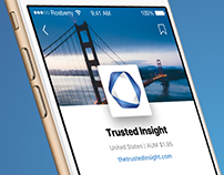 Trusted Insight mobile app