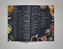 Bar's menu