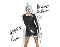 fashion illustration MBFWRussia