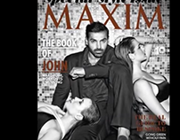 MAXIM- Behind the Scenes with John Abraham