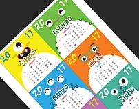 Calendario 2017 - Calendary 2017