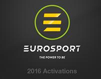 Eurosport: 2016 Activations