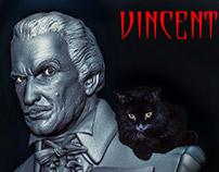 Vincent Price bust
