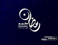 Ramadan Free Typography