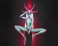 Neon Devil