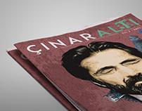 Çınaraltı Dergi - 5.sayı - Kapak + Dizgi + Mizanpaj