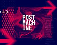 Identidade Visual Post Machine
