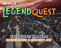 Legend Quest Episode 3 Concept and background art.