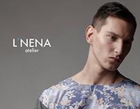 L'NENA Atelier SS15 Identity Campaign