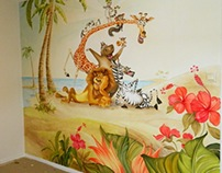 """Madagaskar"" in Susanne room (Sandefjord - Norway)"