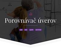 Porovnávač úverov - website