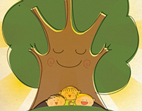 "+ Children Illustration contest ""L'albero tana"" +"
