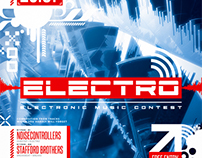Electro Party Flyer vol.1, PSD Template