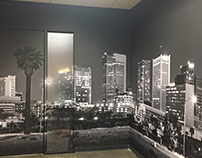 Wallcovering and window graphics