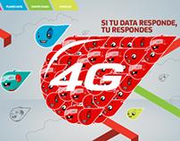 ilustraciones para Digicel Data 4G