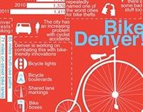 Denver Bikes Infographic
