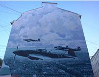Mural painting «Skies»
