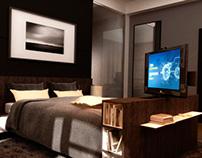 Mueble para LCD con giro 350°