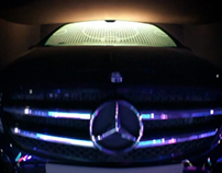 Mercedez-Benz interactive installation