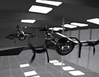 VTOL Tricopter Hybrid