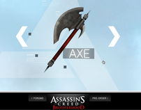 Teaser Site // Assassin's Creed / Ubisoft