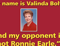Valinda Bolton for State Representative Direct Mail 2
