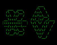 Mindness ASCII 3D Typeface