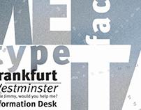 FF Meta typeface catalogue