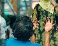 beggars at Kuala Lumpur