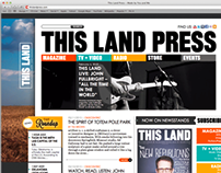 This Land Press Website // 2013