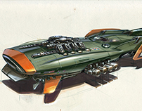 British Space Racer