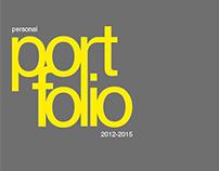 Personal Portfolio (2012-2015)